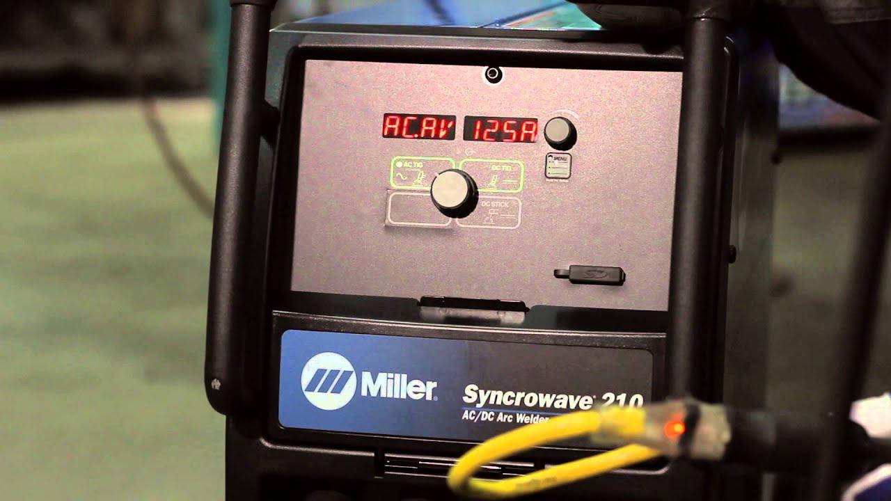 Miller MIG/TIG Welder Combo